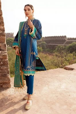 GulAhmed Summer Lawn Unstitched 3Piece Suit CL-1122 A