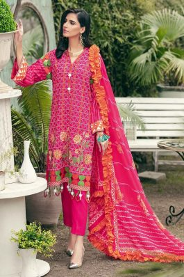 GulAhmed Summer Lawn Unstitched 3Piece Suit CL-1219