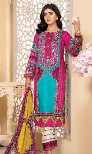 Izah Heavy Embroidered Lawn
